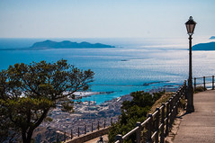 Vistas de las Islas Egadas desde Monte Erice (jtachel) Tags: sicilia verano summer estate italia sicily baroque architecture arquitectura roadtrip travel viajes erice trapani islasegadas