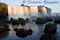 Brazil Iguazu (Bassons38) Tags: brazil water waterfall waterfalls outdoors nature iguazu rocks