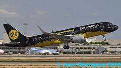 D-AIZR - Eurowings - Airbus A320-214(WL) - PMI/LEPA (Juan Rodriguez - PMI/LEPA) Tags: nikon d90 sigma 70200mm 80400mm pmilepa aeropuerto airport sonsanjuan sonsantjoan palma mallorca plane airplane aircraft aeroplano airbus a320 eurowings borussiadortmund daizr