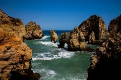Nature Rocks (Costigano) Tags: lagos algarve portugal water waterscape shore shoreline coast coastline canon eos