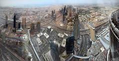 Burj Khalifa Panorama (Garfield4989) Tags: dubai uae burj khalifa panorama view