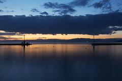 Port of Limenas Thassos (nenadlatkovic) Tags: thassos island greece helas elada sea port sunset clouds lighthouse reflection light nikon d5200 18105 summer night evening dawn macedoniagreece