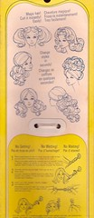 Back of Quick Curl Kelley Box (moogirl2) Tags: vintagetoys vintagedolls 70s 70stoys 70sdolls vintage retro dollboxes vintagedesign 70sdesign quickcurlkelley mattel vintagebarbie barbieboxes vintagebarbieboxes
