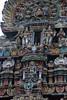 Rich Carvings on temple Gopuram (VinayakH) Tags: halasurusomeshwaratemple bangalore india ulsoor chola vijayanagaraempire kempegowda hindu shiva temple hinduism