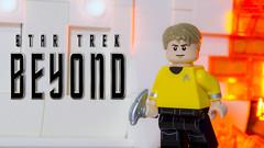 Captain Kirk (Just Bricks) Tags: lego captain james t kirk star trek beyond minifigure custom chris pine