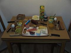 Viertes Frhstck in unserer Ferienwohnung (multipel_bleiben) Tags: essen frhstck