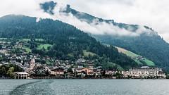Zell am See (Tuomo Lindfors) Tags: itvalta austria sterreich zellamsee schmitten alpit alps alpen vuori mountain lakezell zellersee jrvi lake vesi water dxo filmpack topazlabs clarity