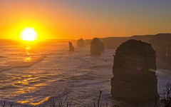 Sunset at 12 Apostles (Fear_Through_The_Eyes) Tags: victoria australia sunset landscape