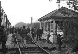 Welford Park station (1), 1973