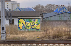 Feel (Herbalizer) Tags: feel graffiti vieinna wien austria sterreich wall trackside wand bb wiener linie