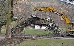 372. That was 'our' bridge, that was!! (J.C. Carter) Tags: cumbria lakeland lakedistrict keswick fitzpark bridge wreckage damage destruction flood stormdesmond scrap workinprogress knightsbridge