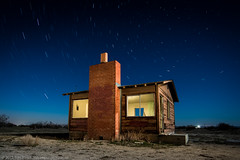 Picture This (dejavue.us) Tags: california longexposure nightphotography lightpainting building abandoned home cabin nikon desert fullmoon moonrise homestead shack nikkor mojavedesert d800 1835mmf3545d vle