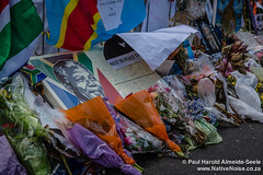 Celebrating Nelson Mandela's Life at the Grand Parade, Cape Town