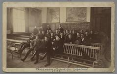 Classroom, Scientific Department, 1878 (Phillips Academy, Andover) Tags: classroom science 1870s phillipsacademy