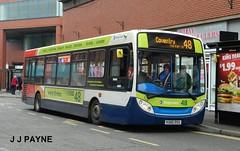 Stagecoach (36163) Alexander Dennis Enviro200 - KX60 DSU (J.J.Pay 8581) Tags: uk england bus leicester alexander dennis 48 stagecoach midlands enviro adl kx60dsu