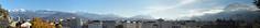 Grenoble : De Belledonne au Vercors (Hlne_D) Tags: park winter panorama cloud mountain snow france alps photoshop montagne alpes grenoble hiver chartreuse jardin neige nuage vercors parc belledonne isre rhnealpes labastille massifduvercors massifdelachartreuse levercors chainedebelledonne hlned lejardindesdauphins
