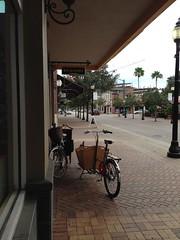 Two bikes in love (METROFIETS) Tags: beach bike bicycle florida bikes sarasota beachbike cargobike beachcruiser enjoytheride bikelife metrofiets keepriding bikesrq palmtreesandbikes