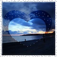 Wonderful Tonight (mareblu2013) Tags: tramonto blu francia spiaggia sera mentone sanvalentino costaazzurra orablu 14febbraio wonderfultonight