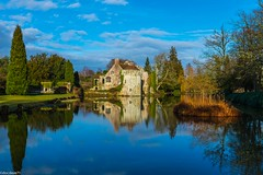 Scotney Castle (docdave71) Tags: pictures travel england sky house castle water architecture kent europe britain tourist tudor betty historic national fotos trust anthony manor mrs gambar bilder refelction billeder scotney hussey  salvin immagini kuvat  flickrstruereflection1