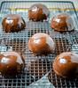 DSC_4968 (michtsang) Tags: art dessert chocolate pearls freeze valrhona dried raspberries feuilletine crunchy godiva entremet saltedcaramel freshas