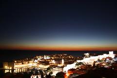 Dubrovnik, after sunset, with Venus (honest observer) Tags: night evening venus citywalls dubrovnik clearsky