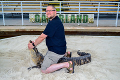 "Gator Wrestler • <a style=""font-size:0.8em;"" href=""http://www.flickr.com/photos/92159645@N05/16048995249/"" target=""_blank"">View on Flickr</a>"