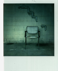 Impossible Project 600 Color Film (Bravo213) Tags: flowers project naked nude polaroid chair pears bare bananas instant impossible