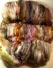 Garnet Topaz Wild Card Bling Batt (yarnwench) Tags: felting spinning batt yarnwench artbatt