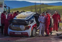 Test S. Loeb Mont-Carlo 2015 (simondurand) Tags: test daniel rally citron racing wrc elena carlo monte total abu dhabi rallye sbastien loeb 2015 wrt montcarlo
