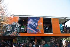 Exhibit Be (david lyle.) Tags: new building art abandoned graffiti orleans band exhibit be breed brass badu erykah