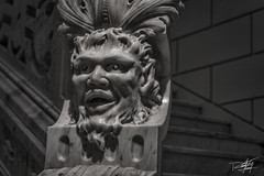 Escalera Palacio Cantn (Ruy Alejandro Canul Canul) Tags: old museum canon mexico hdr palacio