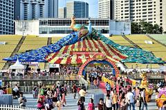 Let's Celebrate Together (chooyutshing) Tags: festival singapore chinesenewyear celebrate lunarnewyear marinabay sg50 themedlanterns liondancecheers riverhongbao2015 thefloatmarinebay letscelebratetogether