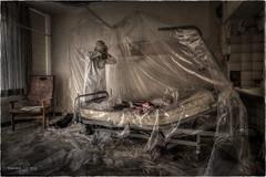 EVD quarantine... (Yamabxl) Tags: abandoned hospital belgium decay creepy spooky forbidden hidden forgotten urbanexploration derelict virus hdr highdynamicrange verlassen urbex desease verfall verlaten lostplaces urbexhdr virusdisease hpitaldelafort