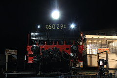 Leading End (james.sanders2) Tags: heritage festival museum night photography evening photo time transport shed trains class turntable steam engines nsw depot p lightup express machines division railways 32 act locomotives powerhouse roundhouse garrat lvr thirlmere garratt servicing 3265 30t 3016 arhs 3237 6029 nswrtm nswgr nswr ad60