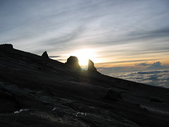 Sunrise On Mount Kinabalu
