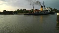 Der Dampfeisbrecher Stettin unterwegs Richtung Ostsee (stier62) Tags: nordostseekanal eisbrecher sehestedt