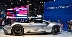 2016 Ford GT (Chad Horwedel) Tags: chicago ford illinois gt sportscar chicagoautoshow fordgt 2016fordgt