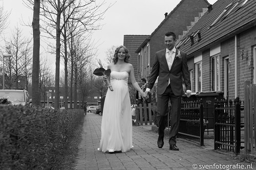 Trouwen Sander & Evelyn