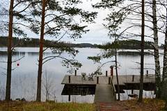 Vuolenkoski swimming place, Iitti, 20111113 (RainoL) Tags: november autumn lake eh finland geotagged jetty shore fin 2011 iitti kymenlaakso vuolenkoski 201111 20111113 geo:lat=6108391300 geo:lon=2617899300