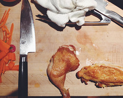 72/365 (moke076) Tags: atlanta food chicken cooking oneaday mobile dinner breast place skin board leg knife cellphone cell class sharp photoaday fancy chopping carrots blade knives 365 roasted iphone browned sauteed 2015 preserving thight project365 365project vsco vscocam