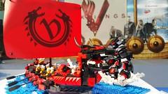 Serpent Slayer (crayonbricks) Tags: ship lego serpent vikings moc afol