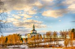 själevads kyrka hdr (johan.bergenstrahle) Tags: mars church landscape march hdr kyrka landskap 2015 örnsköldsvik finepics