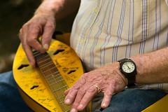 Appalachian dulcimer (jb_took_a_picture) Tags: summer musician music bluegrass folk hills instrument dulcimer hocking centralohio lilyfest