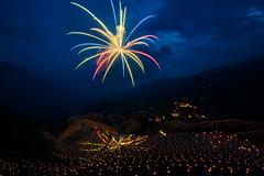Celebration - Dragon Boat Festival (Jim.J.H) Tags: china night fireworks riceterraces dragonboatfestival longjiriceterraces
