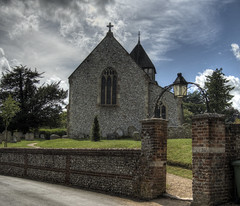 Church at Sparsholt, Hampshire (neilalderney123) Tags: church architecture olympus hampshire sacred winchester omd sparsholt 2016neilhoward
