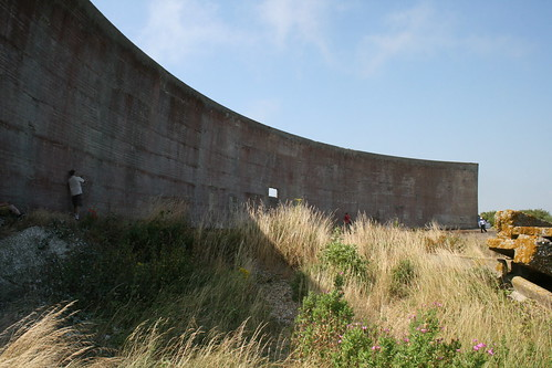 Sound Mirrors at Lade Pit
