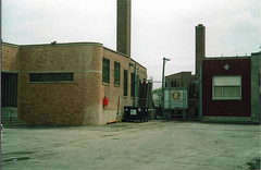 Tom Burke Photo Chicago Newport Avenue East of Kimball July 6 2003 #5 (middlewest1) Tags: chicago cnw spur streettrackage