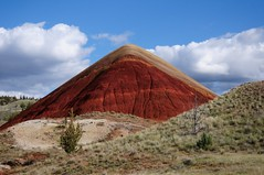 Red giant (YuriZhuck) Tags: usa nature oregon landscape fossil us or hill paintedhills johnday