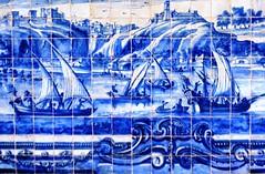 Fragmento de painel de azulejos portugueses do Sec. XVII retratando cenas de Lisboa (marcusviniciusdelimaoliveira) Tags: igreja bahia convento salvador azulejo azulejos azulejaria