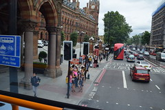 DSC_7530 (photographer695) Tags: london bus route 205 st pancras railway station